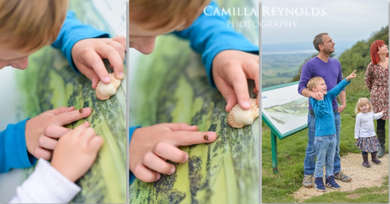 ladybird outdoor children photo shoot Cotswold photographers