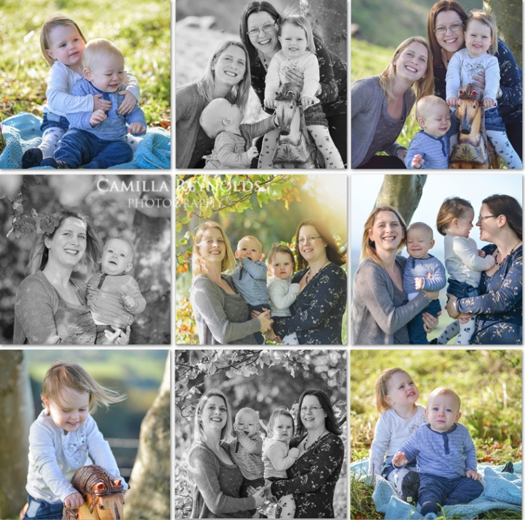 baby outdoor photo shoot Gloucestershire