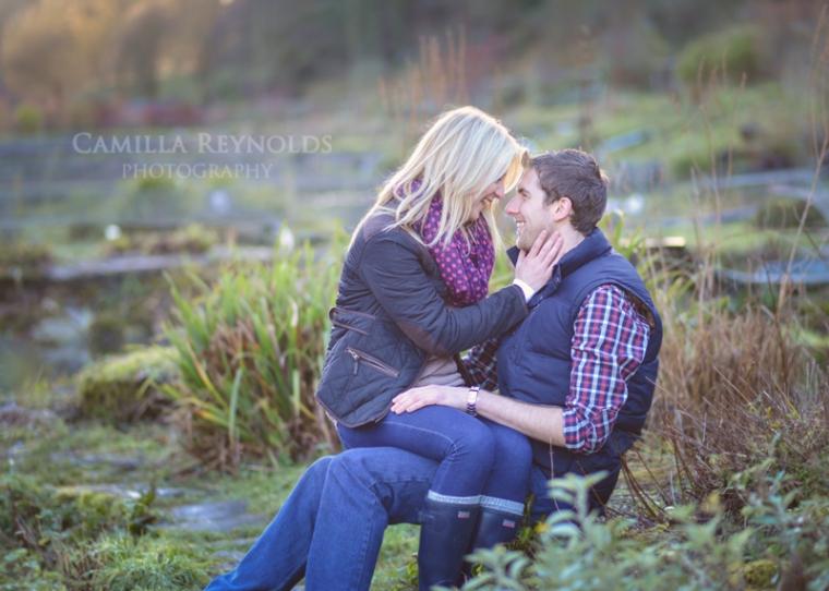 engagement photo shoot Cotswold wedding photographers