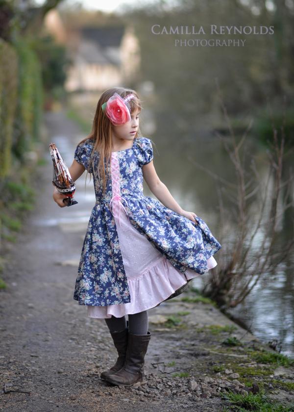 creative fairytale children photo shoot Cotswold Stroud