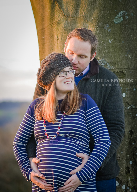 pregnancy photo shoot Gloucestershire Cotswolds