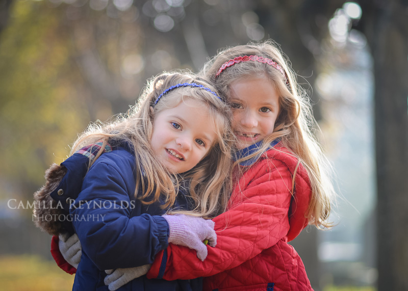 natural outdoor children photo shoot