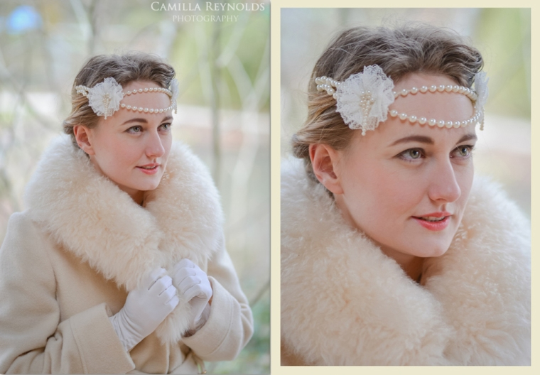 vintage bridal hair Cotswold wedding photography