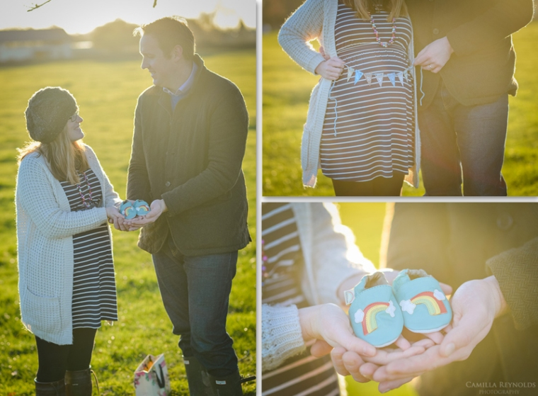 creative pregnancy photo shoot Cotswolds Gloucestershire photographers