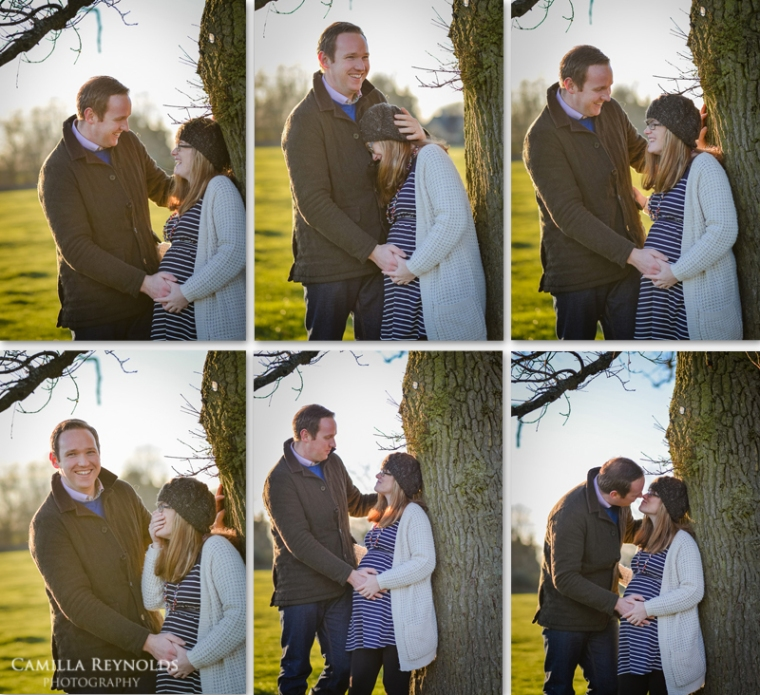 natural pregnancy couple photo shoot Cotswolds Gloucestershire