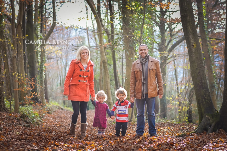 autumn natural family children photography Gloucestershire photographer