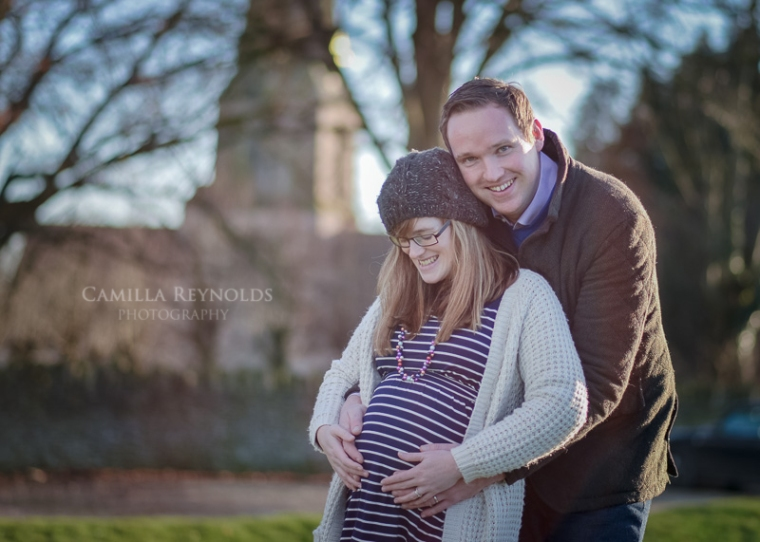 outdoor pregnancy photo shoot Cotswolds Gloucestershire photographer