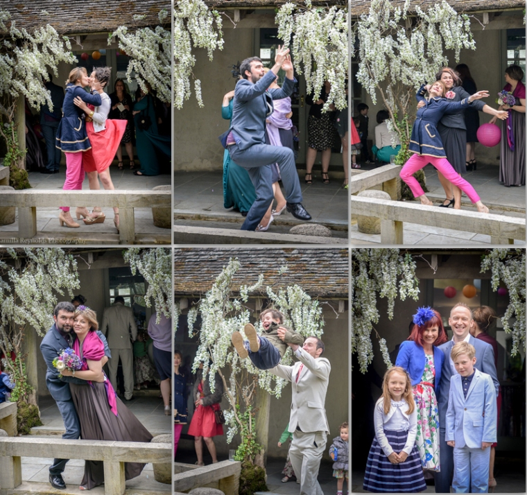 fun wedding photography Matara  Cotswolds