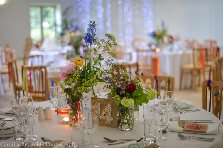 table numbers rustic decor Matara  Cotswold wedding