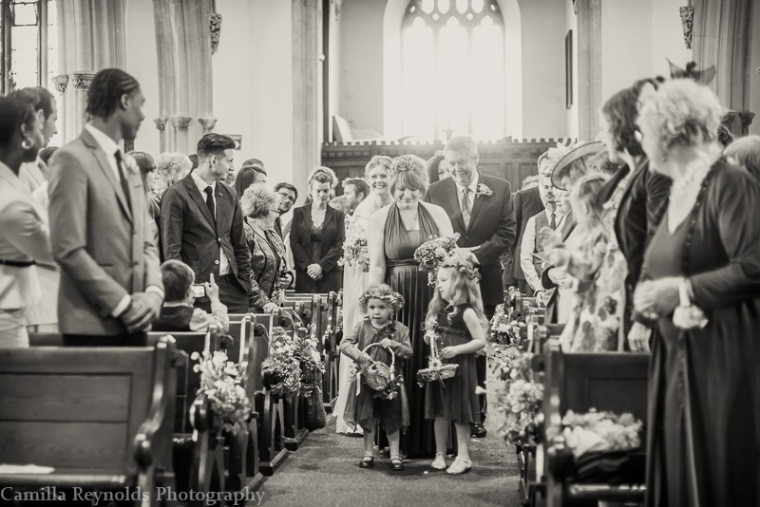natural church wedding photography Gloucestershire