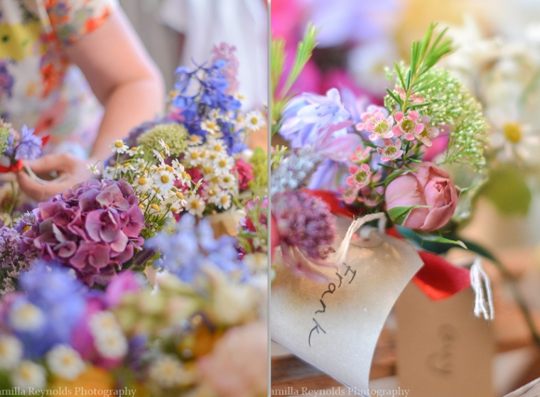 wilflowers wedding bouquet Cotswold photography
