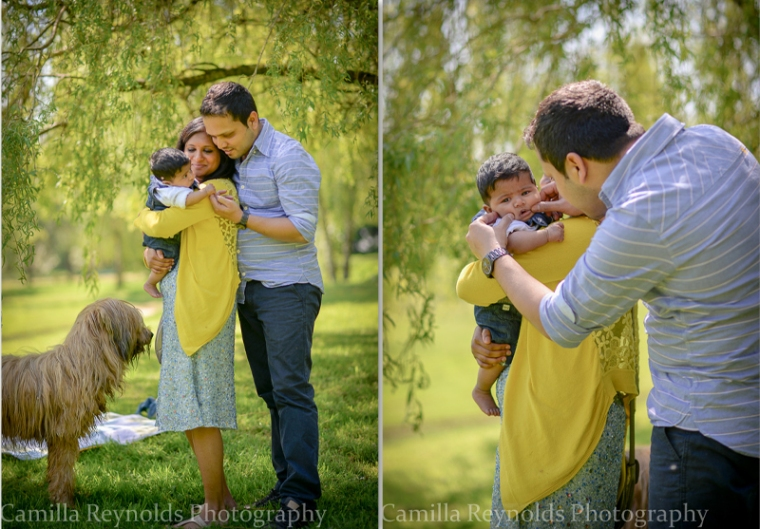 outdoor family photo session Cotswolds Matara