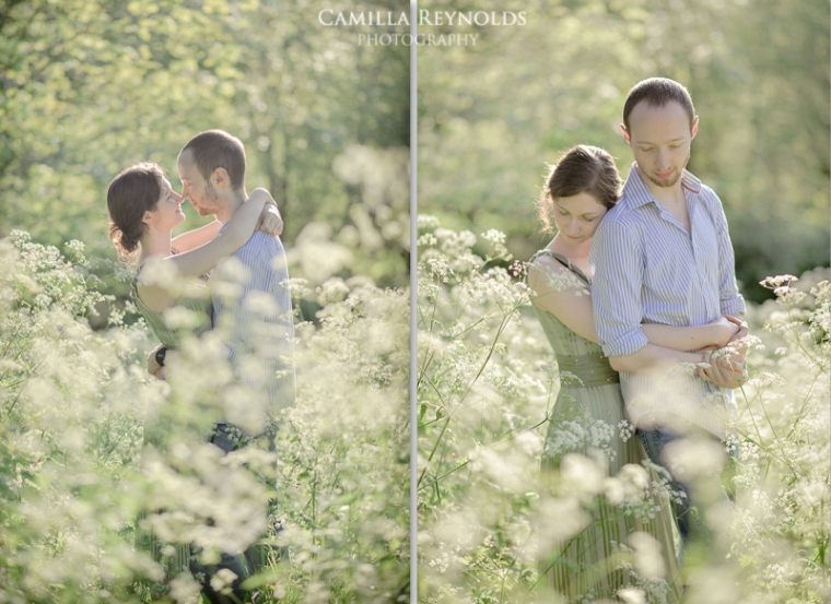 beautiful natural meadow photography engagement stroud cotswolds