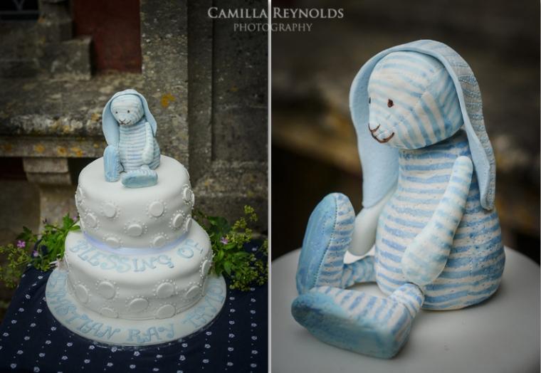 bunny cake painswick rococo photographer wedding