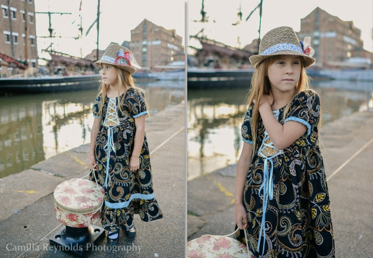 alice through the looking glass Gloucester children fashion photography