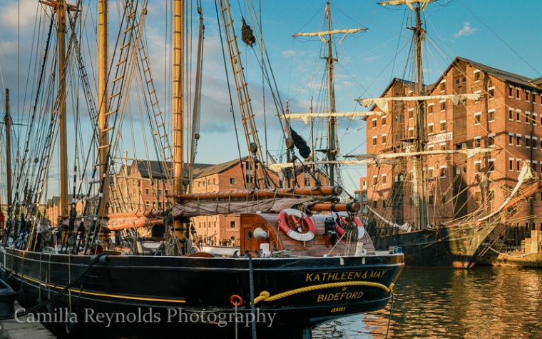 alice through the looking glass Gloucester tall ships photography
