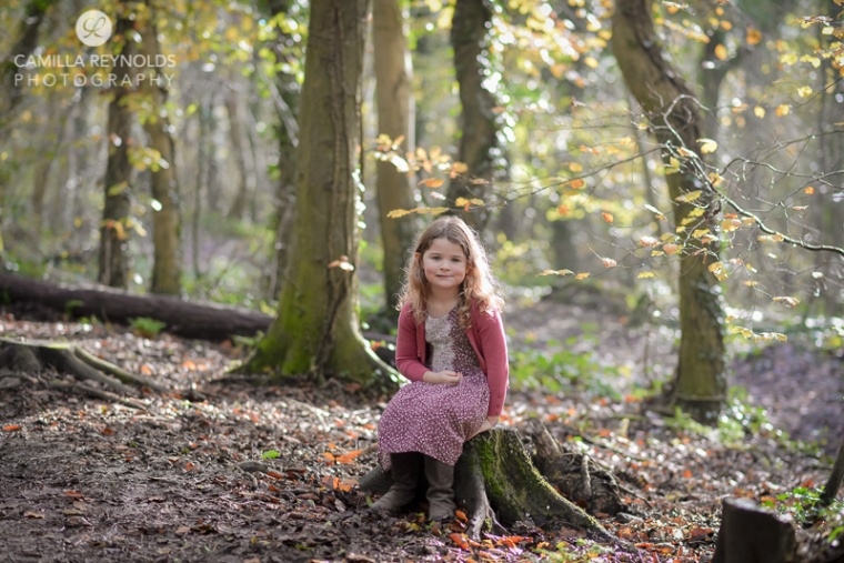 child outdoor photo shoot Cotswold family photography