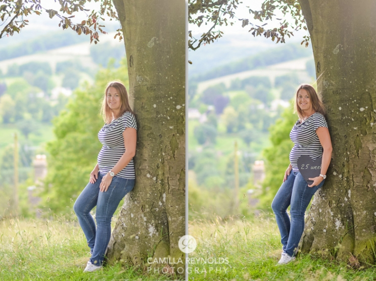 25 weeks pregnancy photography Cotswolds Gloucestershire