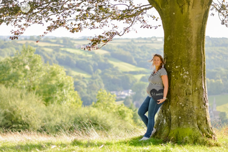 31 weeks pregnancy photography Cotswolds Gloucestershire