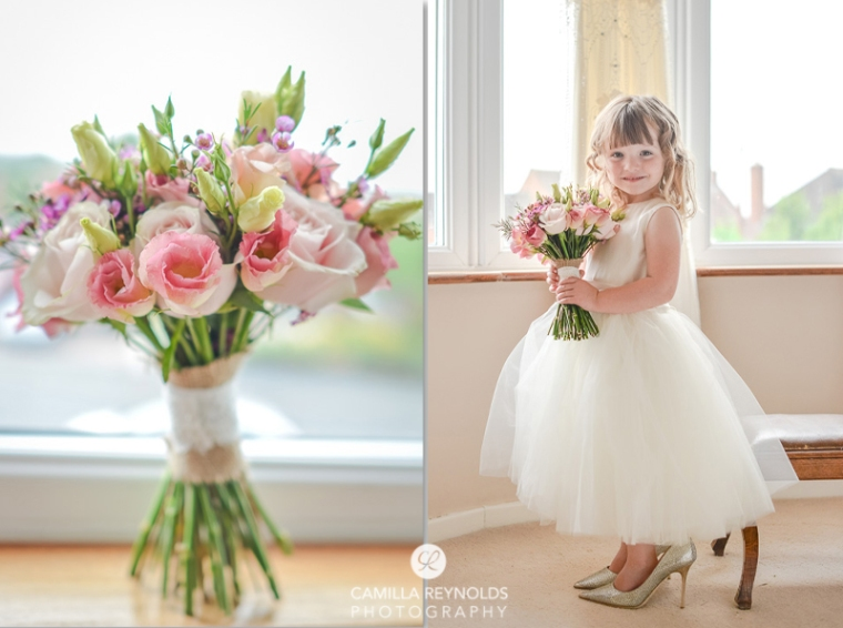 flower girl Cotswold wedding photography herefordshire greenman