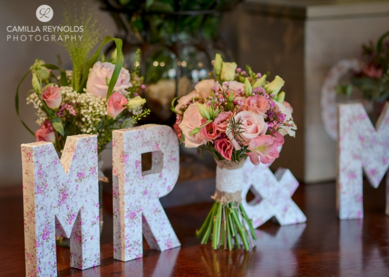 wedding decor ideas letters mr and mrs