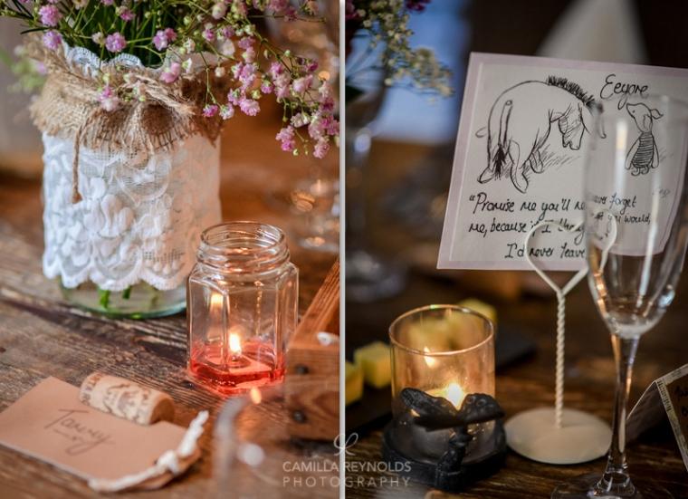 winnie the poor wedding themes wedding table settings rustic vintage