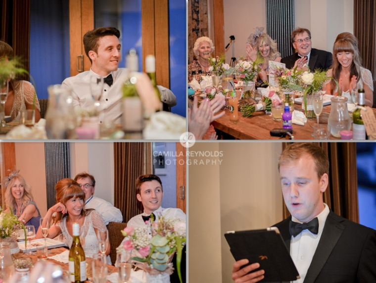 wedding speeches natural photography