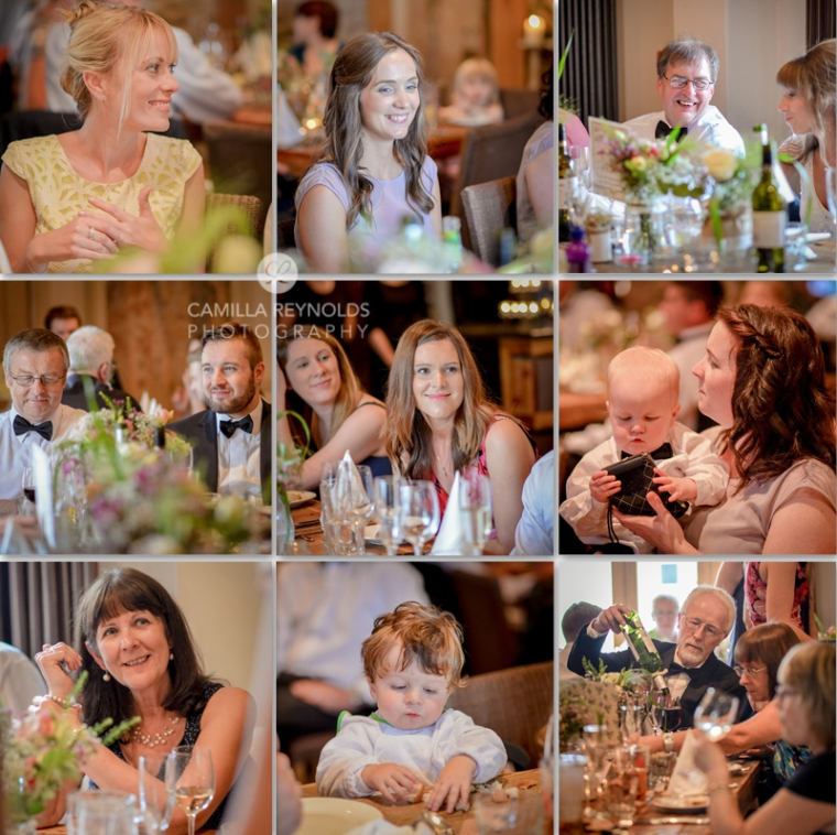 guests natural wedding photography Herefordshire