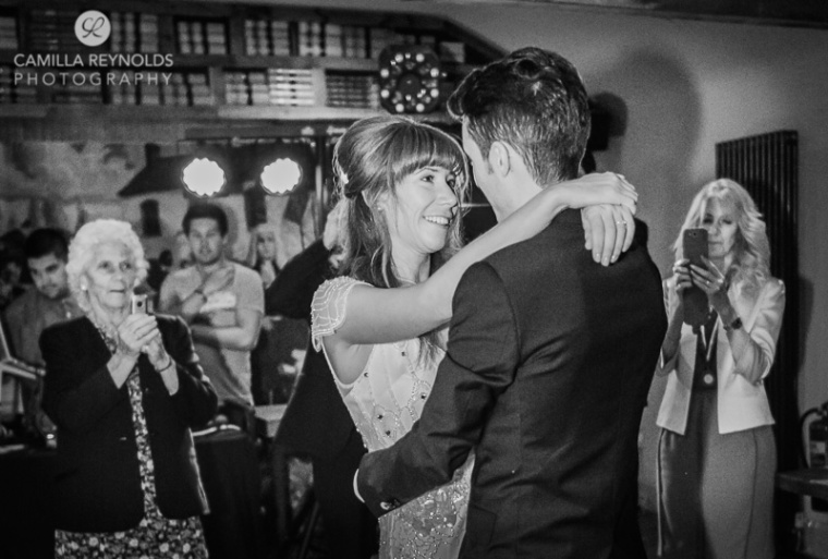 black and white natural wedding photography Herefordshire Gloucestershire
