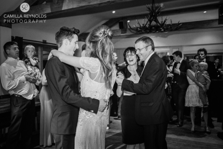 black and white natural wedding photography Herefordshire