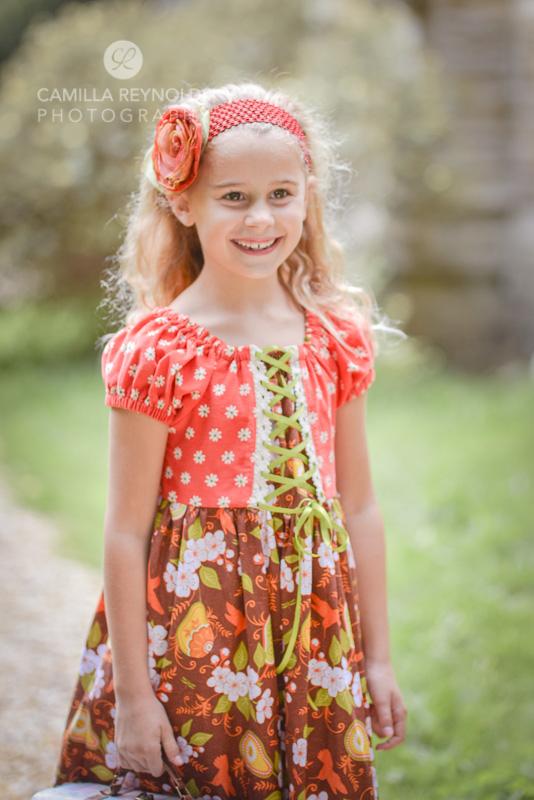 girl children photo shoot Cotswolds