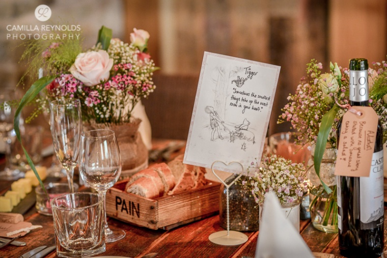 Cotswold wedding photography herefordshire greenman Winnie the Pooh