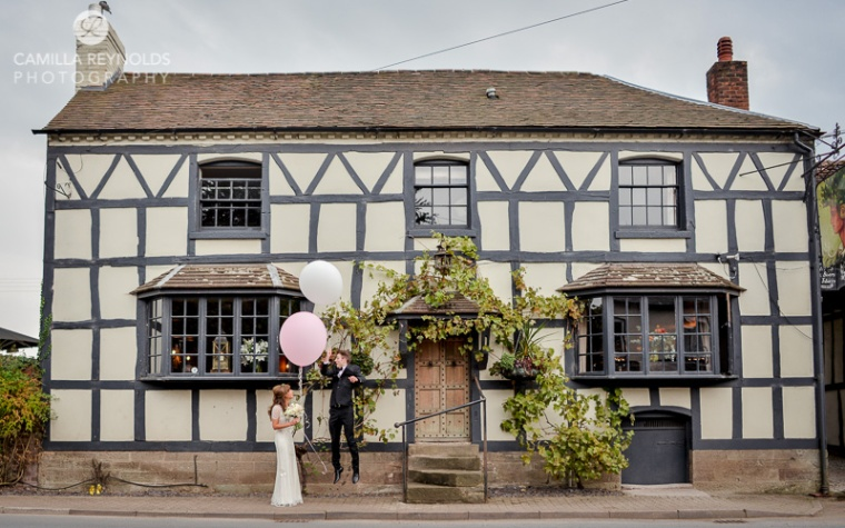 happy wedding photography herefordshire and Cotswold weddings