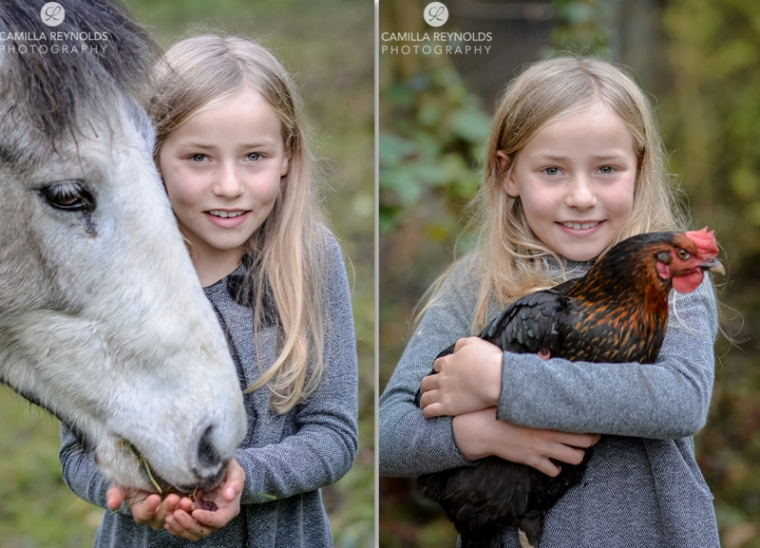natural children photography Cotswolds Gloucestershire horse girl