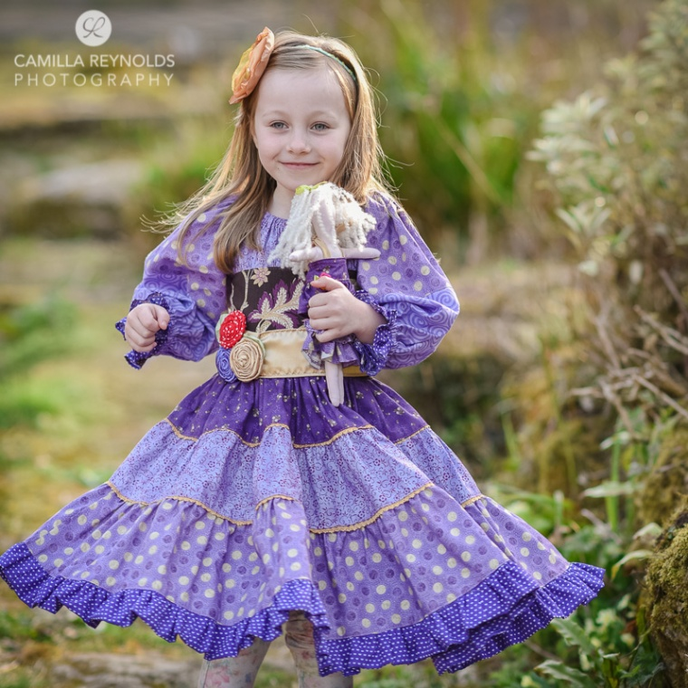 beautiful children photography girl photo shoot Cotswolds Gloucestershire