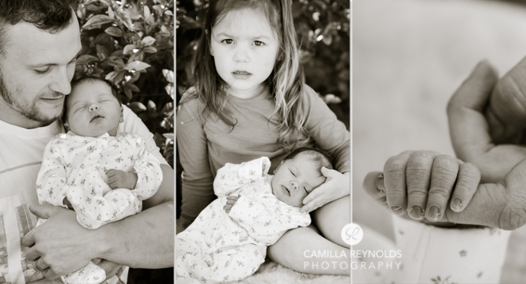newborn baby photography Gloucestershire family photo shoot