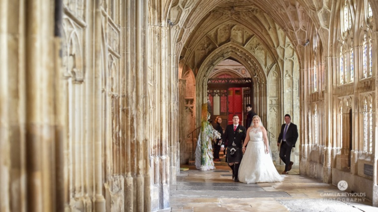 Gloucester cathedral wedding photography (14)