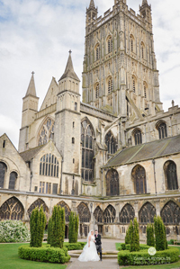 Gloucester wedding photographers cathedral