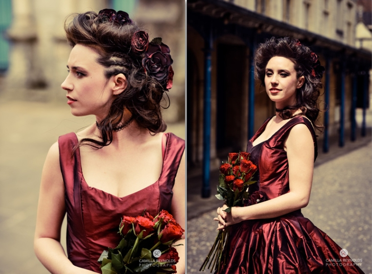 alternative wedding photography bridal dresses accessories Cotswolds