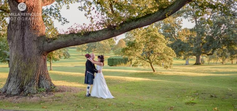 hilton wedding photography puckrup hall