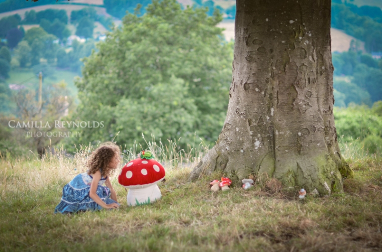 creative children photography Cotswolds fairy girl