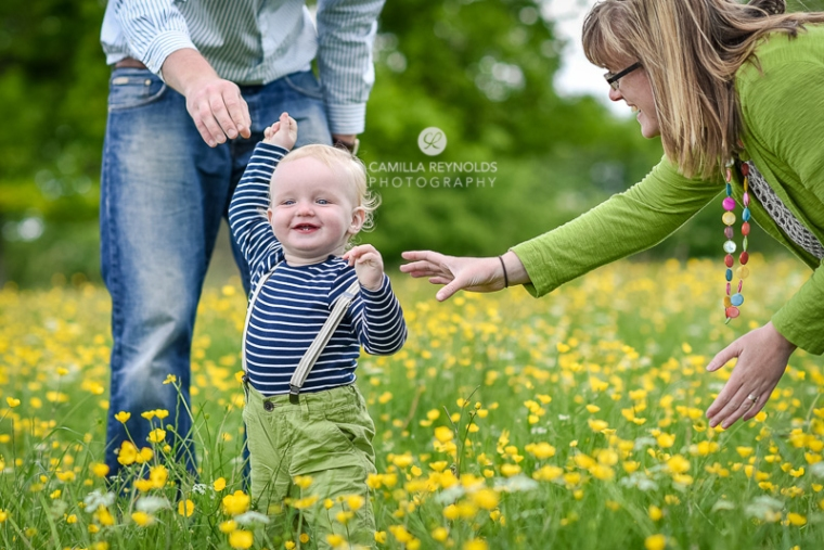 first step baby family natural photography Gloucestershire Cotswolds