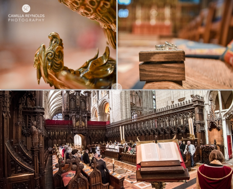 Gloucester Cathedral wedding rings Stroud photographer
