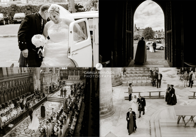 documentary wedding photography Gloucester Cathedral