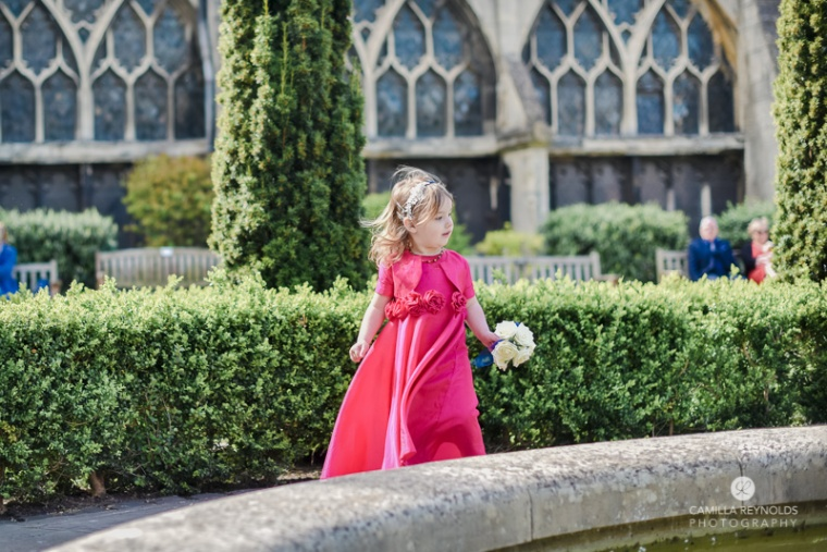 flower girld beautiful wedding photography Cotswolds