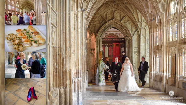 Gloucester Cathedral UK best wedding venues