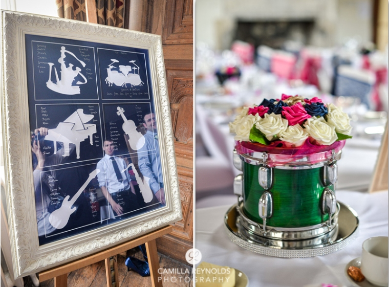 music instrument wedding theme weddings Cotswold wedding photographer