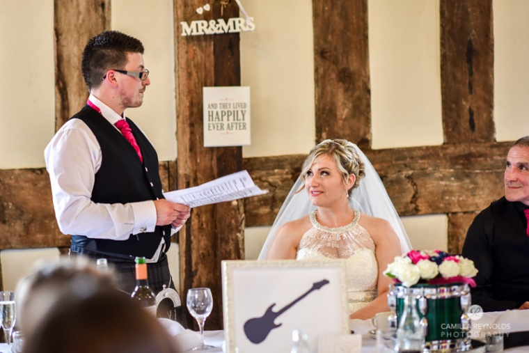 wedding speeches Gloucester Cathedral photographer