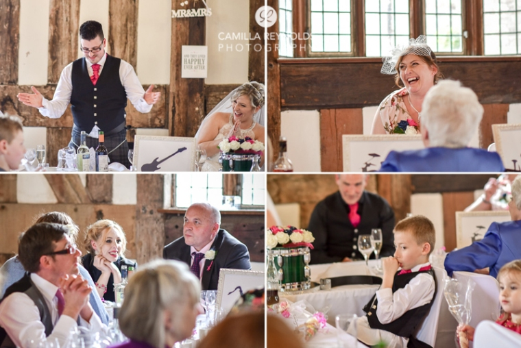 wedding speeches Cotswold photographer