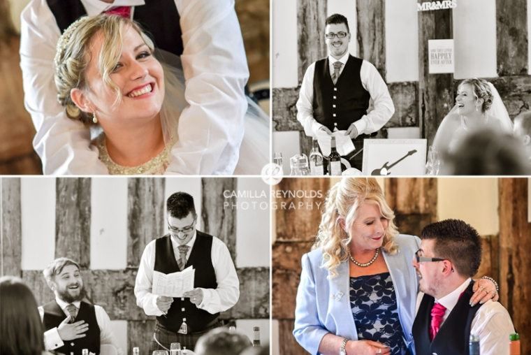 happy wedding photography Cotswolds
